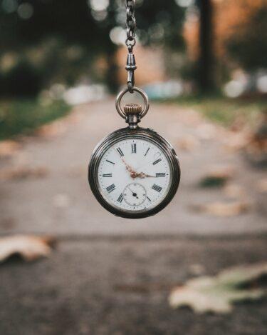 時間という財産【ふと思ったこと】