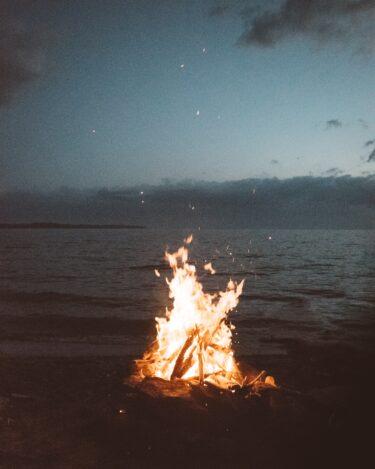 朝活inキャンプ【なんて素敵な朝でしょう】